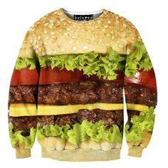 Cheese Burger Sweater