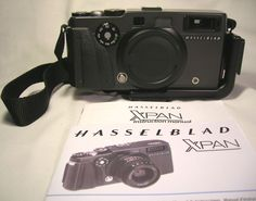 Mint Hasselblad Xpan Panoramic 35mm Rangefinder Film Camera - Body Only LQQK NR  #Hasselblad