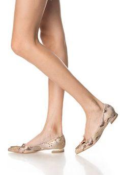 Balerini maro cu model reptila Peeps, Peep Toe, Model, Stuff To Buy, Shoes, Fashion, Moda, Zapatos