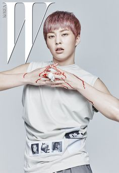 Xiumin (시우민) for W Korea - Photograph by Kim Ji Yang Chanyeol, Exo Korea, Exo Album, Kim Minseok, Wu Yi Fan, Korean Boy, Korean Wave, Xiu Min, K Idols