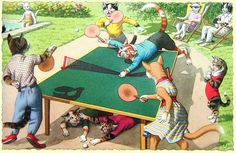 minimum space for ping pong table - Google Search