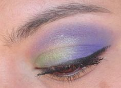 Purple and green eyes with BFTE Rock Star and Sour. Star Makeup, Eye Makeup Tips, Beauty Makeup, Purple Eyeshadow Looks, Green Eyeshadow, Look Into My Eyes, Woman Painting, Eye Make Up, Eye Color