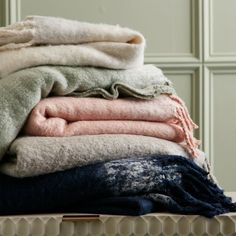 West Elm offers modern furniture and home decor featuring inspiring designs and colors. Create a stylish space with home accessories from West Elm. West Elm Bedding, Grey Bedding, Comforter, Black Furniture, Modern Furniture, Grey Throw Blanket, Throw Blankets, Textured Bedding, Houses