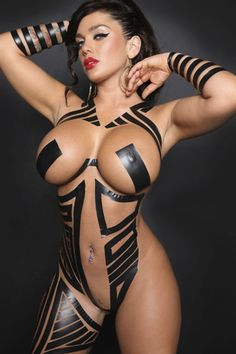 BLACK TAPE PROJECT with BUSTY AMAZON BODY of sexy #Fitness model : Health, Physique Goals & #Fitspo - the best #Inspirational & #Motivational Pins by: http://cagecult.com/mma