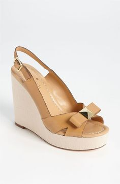 kate spade new york 'devi' wedge sandal available at #Nordstrom