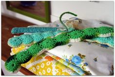 lovely colors, the happy hanger of Dottie Angel by Kim