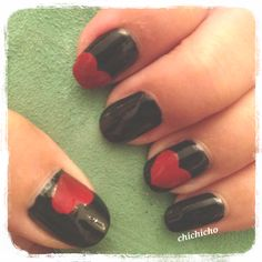 Queen of Hearts | chichicho~ nail art addicts