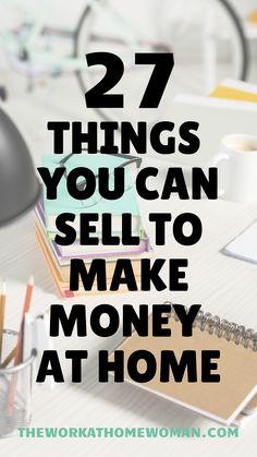 Make Money Today, Make Easy Money, Earn Money From Home, Earn Money Online, Way To Make Money, Sell Things Online, How To Make, Selling Online, Things To Sell