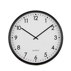 Wall Clock, Black Metal