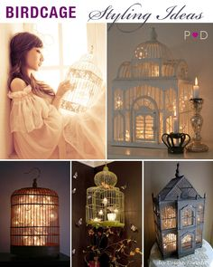 Styling: Birdcages as event decor by Pocketful of Dreams    birdcage, Birdcage Centrepiece, Birdcage Inspiration, Birdcage Lanterns, Birdcage Styling Ideas, Birdcage Wedding Decor, Wedding Birdcage Mood Board