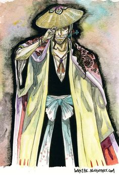 BLEACH: Shunsui Kyoraku by Why2be on DeviantArt
