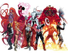 Avengers NOW teaser by Sara Pichelli and Laura Martin at Comic Art Community