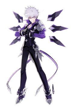 View an image titled 'Lunatic Psyker Art' in our Elsword art gallery featuring official character designs, concept art, and promo pictures. Character Concept, Character Art, Concept Art, Anime Elsword, Add Elsword, Elsword Game, Anime Fantasy, Fantasy Art, Manga Art