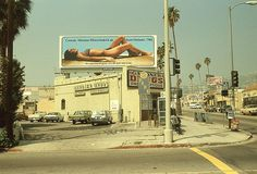 Los Angeles, 1970s: Photographed by Stephen Shore  it was really truly that color in my childhood - ugly yellow warm