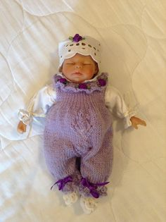 Beautiful baby doll! Handmade outfit! #mylittlerescuedangels