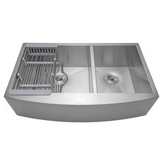 AKDY Handmade x Stainless Steel Double-Basin Standard or Larger) Undermount Apron Front/Farmhouse Residential Kitchen Sink All-in-One Kit Apron Sink Kitchen, Single Bowl Kitchen Sink, Farmhouse Sink Kitchen, New Kitchen, Kitchen Sinks, Kitchen Ideas, Double Farmhouse Sink, Kitchen Cabinets, Kitchen Black