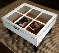 Window Coffee Table - 17 Creative DIY Projects for Unique Decorations for Your Home