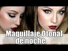 Maquillaje otoñal de noche con Lilia Cortés|| GotyMakeUp3 - YouTube