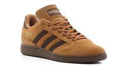 Adidas Originals Brown Busenitz Vulc Mens BrownRunning WhiteCardinal | Seven Lane