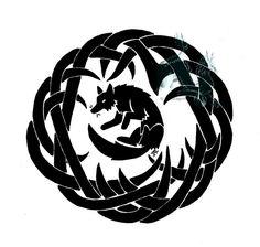DeviantArt: More Like Tribal Okami by ElementalFurs Fox Art, Larp, Worlds Largest, Celtic, Deviantart, Artist, Animals, Motors, Stickers
