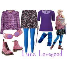"""""""luna lovegood"""" on Polyvore"""