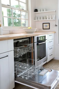 Domestic Science Tip: How to Clean a Dishwasher