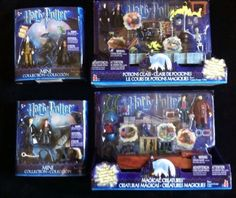 HARRY POTTER MINI COLLECTION LOT OF 4 (2003)