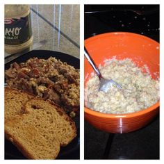 Thank you Dan @theycallmedeeze for being a fan of Coach's Oats! Oatmeal is awesome any meal of the day :]