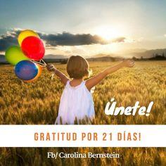 Gratitud por 21 días [Dia #6] Comenzamos el movimiento de  Gratitud por 21 días!  Y nuestro objetivo es: Crear una Ola  de agradecimiento y  de cosas positivas en nuestras redes sociales  No es tarde para comenzar   Te unes?  Sube una foto cada día por 21 días de algo/alguien  por lo cual sientas gratitud y ponle el hashtag:  #gratitudpor21dias a tu post!  Y Asegúrate de etiquetarme :)  http://ift.tt/2fHfYiO  Cuando agradeces a la vida La vida te da más  para agradecer Tip de hoy: Toma unos…