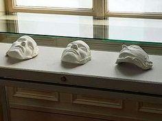 Totenmasken der RAF
