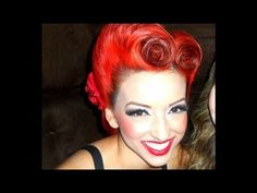 https://www.facebook.com/pinupdollashleymarierosas  http://instagram.com/pinupdollashleymarie/    Hey everyone! So here is a new tutorial VICTORY ROLLS! I finally did it after the many requests. Thanks for being so patient. If you have any questions please feel free to ask ;)