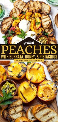 Get the most out of summer grilling with this easy appetizer recipe! Served alongside crusty bread with honey and pistachios, these grilled peaches and burrata make a show-stopping 4th of July food… Best Side Dishes, Healthy Side Dishes, Vegetable Side Dishes, Side Dish Recipes, Fun Easy Recipes, Easy Appetizer Recipes, Easy Meals, Appetizers, Summer Grilling Recipes