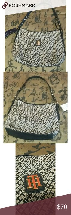 TOMMY HILFIGER purse NWT  In perfect condition! Size: L 10in, W 2 1/2in, H 8 1/2in Tommy Hilfiger Bags