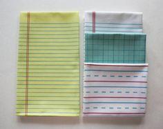 Handwriting Paper Towel Decorative Cotton Tea by dirtsastudio