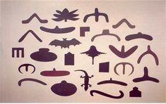 richard killeen, nz artist, cut outs. love his work. Artists For Kids, Art For Kids, Nz Art, Maori Art, 3d Artist, New Zealand, Craft Projects, Illustration Art, Shapes