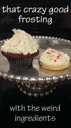 that Crazy Good Frosting - with the weird ingredients
