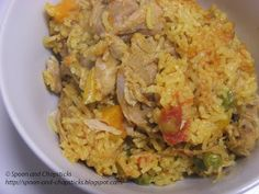 Pressed Chicken and Rice