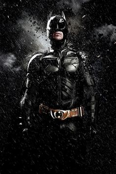 Christian Bale as Bruce Wayne/Batman in Batman The Dark Knight.