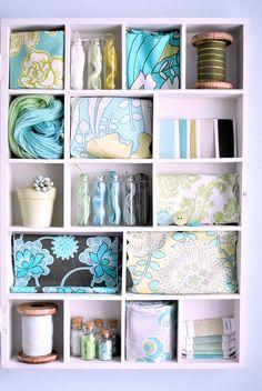 :: Craft cupboard - get organized ::