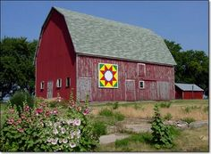 "Scherle Barn, 2761 Zeller Ave., Lytton   ""Rock Star""   Painted by Jeff Townsend family"