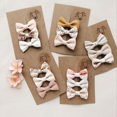 of hand crafted, vintage, and distinct goods and their personal gifts linked to each of your seek.Pretty baby girl bow - February 02 2019 atA variety of simple handmade baby bow ties and headbands to match your Billy Bibs gear. Baby Girl Hair Clips, Baby Girl Bows, Girls Bows, Diy Baby Headbands, Crochet Headbands, Easy Baby Blanket, Diy Hair Accessories, Wedding Accessories, Diy Bow