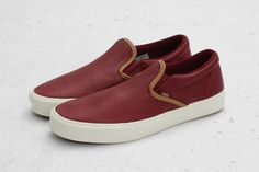Vans California Classic Slip-On Braided Tawny Port