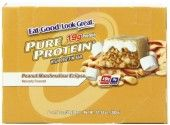 Pure Protein Bar, Peanut Marshmallow Eclipse, 6 Bars, 1.76 Ounces (Pack of 2)       Pure high protein indulgence     Naturally & artificially flavored  Price: $14.26 ($1.19 / bar) & FREE Shipping on orders over $35. Pure Protein Bars, High Protein, Wellness Fitness, Health And Wellness, Sports Nutrition, Marshmallow, Pure Products, Free Shipping, Health Fitness