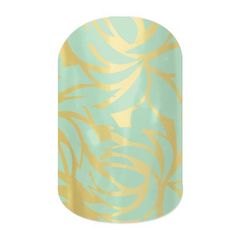 Fresh Fern Jamberry Nail Wraps $15 Buy 3 Get 1 Free  Spend $50 or more (pre tax) on my site and get a free 1/2 wrap from my inventory