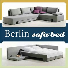 Just Home Furniture - Berlin Sofa Bed Call us on 0100 472 5858 Home Furniture, Outdoor Furniture, Outdoor Decor, Vitra Chair, Sofa Bed, Couch, Guest Bedrooms, Living Room, Interior