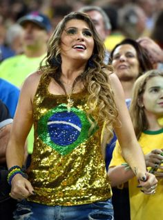 Apologise, but, Beautiful soccer fan brazil similar