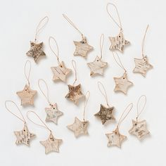 Terrain Birch Star Ornaments #shopterrain
