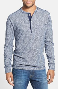 Bonobos 'Baxter Stripe' Henley available at #Nordstrom