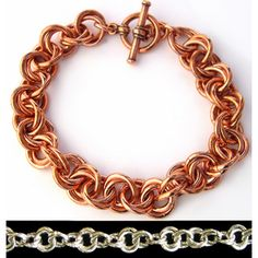 DIY Jewelry Chainmaille Kits Tutorials | Wiggle (Mobius) - Project | Blue Buddha Boutique