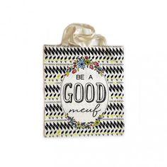tote bag Be a good meuf